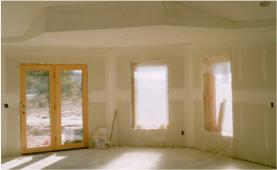We Apply Our Finish Directly Over the Interior ICF Walls Without Sheetrock